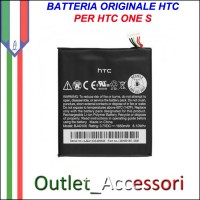 Batteria Pila Originale HTC ONE S BJ40100