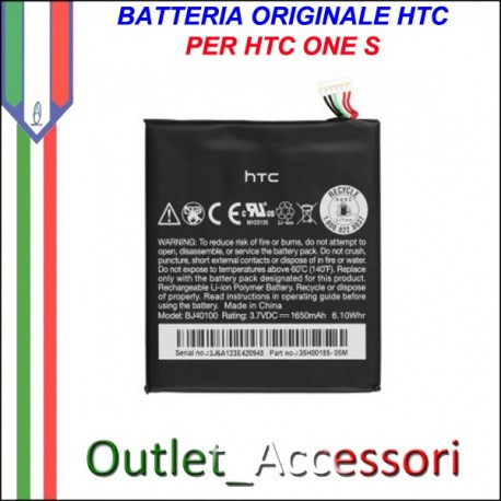 Batteria Pila Originale HTC ONE S BJ40100