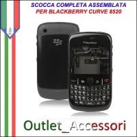 Sostituzione Riparazione Cambio Cover Scocca Blackberry Curve 8520