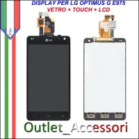 Display Lcd Vetro Touchscreen LG Optimus G E975 Schermo Originale