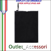 Display Lcd Schermo Cristalli Liquidi per Apple Ipad Air Ricambio Originale