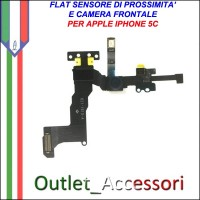 Flat Sensore Prossimita camera frontale per Apple Iphone 5c