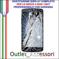 Riparazione Dispaly Lcd Touch LG GOGOLE NEXUS 5 D820 D821 Cambio Touchscreen Schermo Rotto