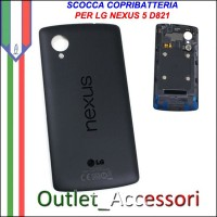 Scocca Copribatteria LG Nexus 5 D820 D821 Chip NFC Housing Cover