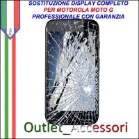 Riparazione Dispaly Lcd Touch Motorola Moto G Cambio Touchscreen Schermo Rotto