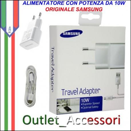 Caricabatterie Alimentatore Potenza 10W Originale Samsung per Note Galaxy ETA-U90EWE