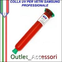 Colla Adesivo UV LOCA OCA Ultra Violetti per Assemblaggio Vetro Vetri Samsung