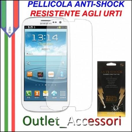 Pellicola Schermo Anti-Shock Resistente Urti per Samsung Galaxy S3 Mini BUFF Ultimate