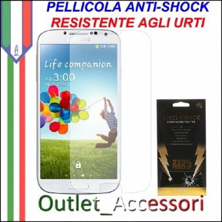 Pellicola Schermo Anti-Shock Resistente Urti per Samsung Galaxy S4 BUFF Ultimate