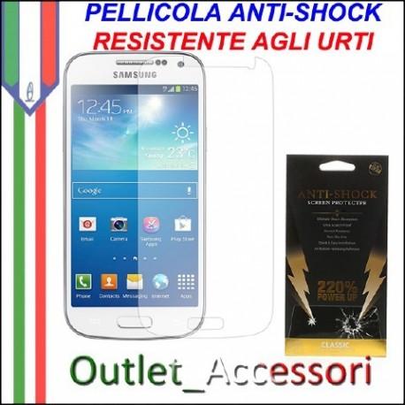 Pellicola Schermo Anti-Shock Resistente Urti per Samsung Galaxy S4 Mini BUFF Ultimate