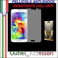 Pellicola Schermo Anti-Shock Resistente Urti per Samsung Galaxy S5 BUFF Ultimate