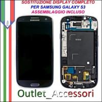 Sostituzione Riparazione Cambio Assemblaggio Display Lcd Vetro Cornice Schermo Rotto Samsung Galaxy S3 I9300 I9305 GT