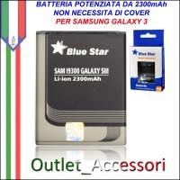 Batteria Maggiorata Potenziata per Samsung Galaxy S3 da 2300mAh I9300 I9305 I9301
