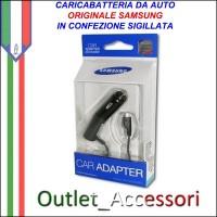 Caricabatterie Auto Car Travel Micro Usb Samsung Originale ACADU10CBE