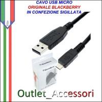 Cavo Usb Micro Dati Ricarica Originale Blackberry ASY-18683-201