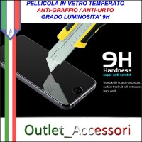 Pellicola in Vetro Temperato X-One per Apple iphone 5 5S 9H