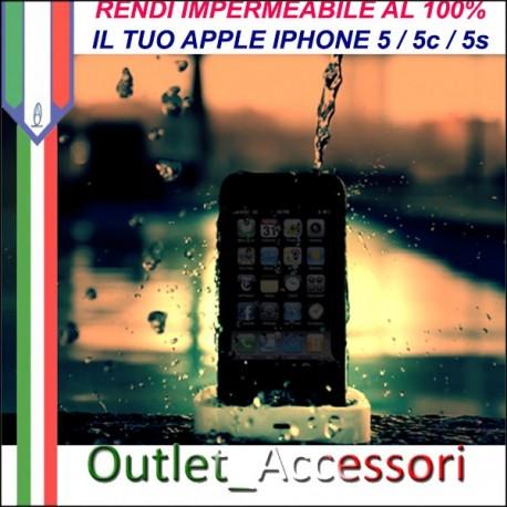 Rendere Impermeabile Apple Iphone 5 IPH7 Idrorepellente Contro Danni Cadute in Acqua Ossido WATERPROOFING