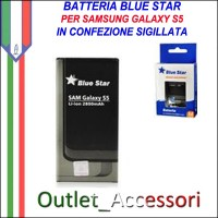 Batteria Pila Per Samsung Galaxy S5 G900 G900F EB-BG900 Blue Star
