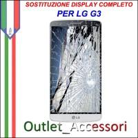 Riparazione Dispaly Lcd Touch LG G3 D855 Cambio Touchscreen Schermo Rotto
