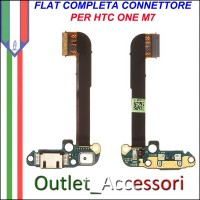 Flat flex Connettore Usb Ricarica per HTC ONE M7 Originale