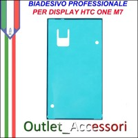 Biadesivo Adesivo Incollaggio Assemblaggio Vetro Display touch per HTC ONE M7