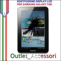 Riparazione Display LCD per Samsung Galaxy Tab 2.0 P5100 P5110 Sostituzione Cambio GT-P5100