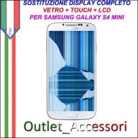Sostituzione Display Samsung Galaxy S4 Mini i9195 Lcd Vetro Schermo Rotto Riparazione Cambio Assemblaggio GT-I9195