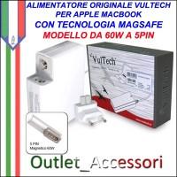 Alimentatore Vultech AP165365Z-218 Per Apple Con 5 PinMAGSAFE Magnetico 60W 16.5V 3.65A