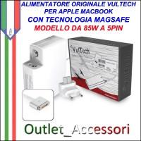 Alimentatore Vultech AP20425Z-218 Per Apple Con 5 Pin Magnetico Magsafe 2 85W 20V 4,25A