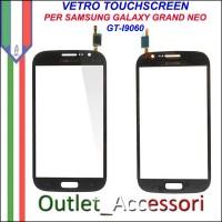 Vetro Touch Touchscreen Schermo Samsung I9060 Galaxy Grand Neo Nero