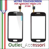 Vetro Touch Touchscreen Schermo Samsung S7390 Trend Lite NERO