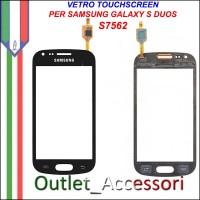 Vetro Touch Touchscreen Schermo Samsung S7562 GALAXY S DUOS NERO