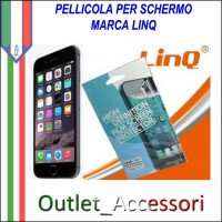 Pellicola Protezione Display Lcd Professionale per Apple IPHONE 6 Linq