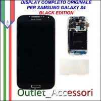 Display LCD Touch Samsung Galaxy S4 I9505 Black Edition Nero Originale