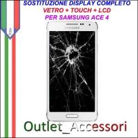 Cambio Sostituzione Display Rotto Samsung Ace 4 G357 G357FZ Schermo Vetro Touch Lcd Assemblaggio