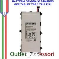 Batteria Pila Originale Samsung Galaxy Tab3 TAB 3 T210 T211 T4000E Garanzia Ufficiale