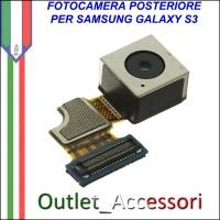 Camera Fotocamera Posteriore Originale Samsung Galaxy S3 8MP I9300 I9301 Neo