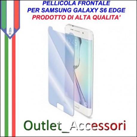 Pellicola Protezione per Display Screen Protector Guard Per Samsung Galaxy S6 Edge G925F