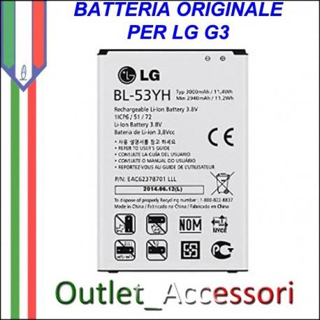 Batteria Originale LG BL-53YH Optimus G3 D855