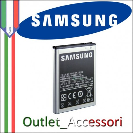 Batteria Originale Samsung Galaxy S3 MINI EB-F1M7FLU Bulk