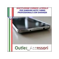 Cambio Cornice Samsung Galaxy Note 3 Neo N7505 Riparazione Sostituzione Telaio Frame Rotto