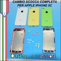 Sostituzione Scocca Back Cover per Apple Iphone 5c Cambio Assemblaggio Housing Cornice Tasti