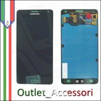 Display LCD Touch Samsung A7 A700F NERO Schermo Completo Originale GH97-16922B
