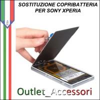 Cambio Sostituzione Copribatteria Back Cover Vetro Rotto Sony Xperia Z3 MINI D5803 Assemblaggio