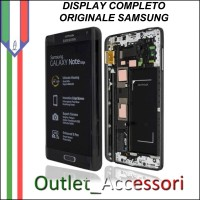 Display LCD Touch Samsung Note Edge N915F SM Originale GOLD Nero Schermo GH97-16636A