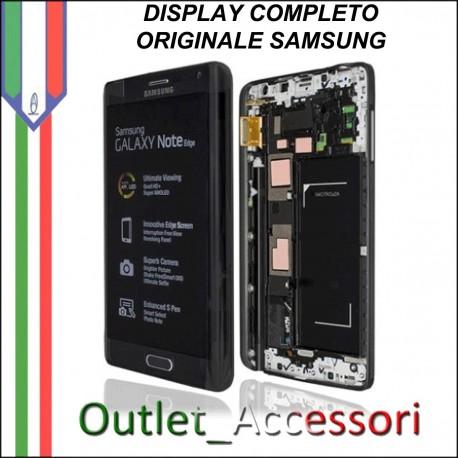 Display LCD Touch Samsung Note Edge N915F SM Originale GOLD Nero Schermo GH97-16636A