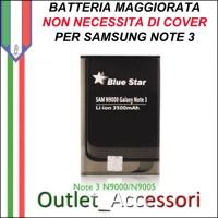 Batteria Maggiorata Potenziata per Samsung Galaxy Note 3 4200mAh N9000 N9002 N9005