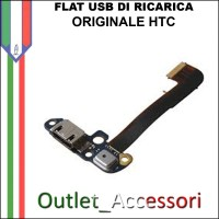 Flat flex Connettore Usb Ricarica per HTC ONE M8 Originale