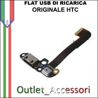 Flat flex Connettore Usb Ricarica per HTC ONE M8 Originale