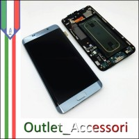 Display LCD Touch Samsung Galaxy S6 Edge Plus Edge+ G928F SILVER Originale